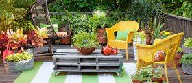 декорации за градината